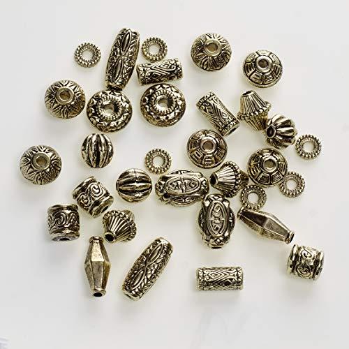 Darice Plastic Football Bead, 60 Pieces ()
