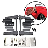 AutoLoc Power Accessories 9618 Two Door Pre-Aligned Suicide Hidden Hinge System Super Kit