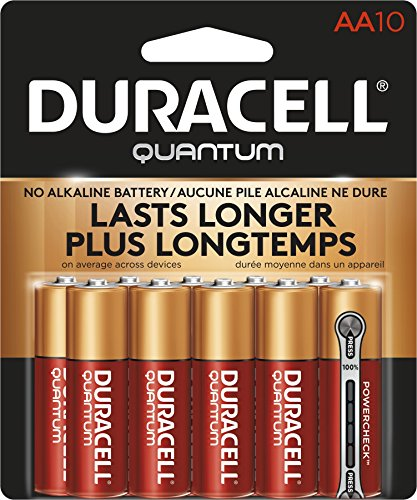 Duracell Quantum Alkaline AA Batteries, 10-Count