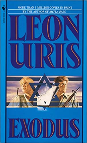 Image result for exodus by leon uris