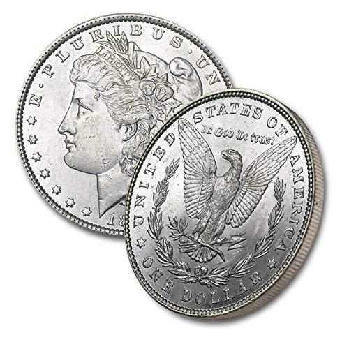 1890 P Morgan Silver Dollar $1 Brilliant Uncirculated