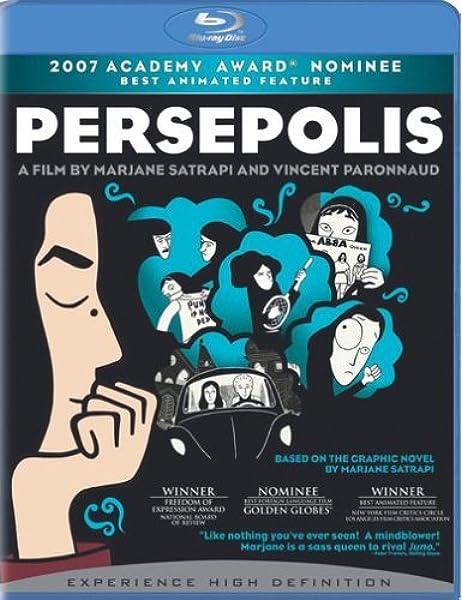 Amazon Com Persepolis Bd Live Blu Ray Vincent Paronnaud Marjane Satrapi Xavier Rigault Marc Antoine Robert 2 4 7 Films Movies Tv