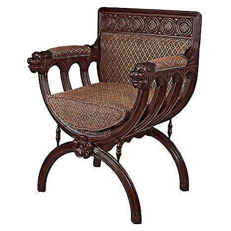 Amazon.com: Madison Collection San Lorenzo Cross Frame Chair ...