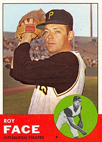 Baseball MLB 1963 Topps #409 Roy Face NM+ Pirates