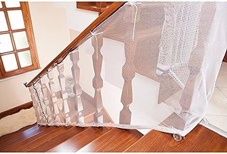 Musuntas niños engrosamiento de seguridad valla protección red de seguridad red valla de balcón Kids seguridad escaleras Protector niño bebé Talla:2M: Amazon.es: Bebé