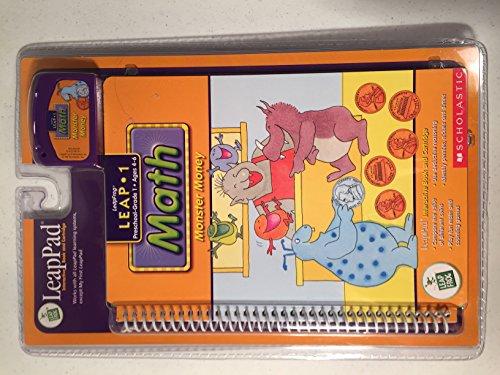 LeapPad Monster Money Interactive Cartridge