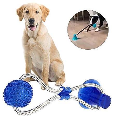 AIDIYA Juguete para Perros Juguete de Bola de Cuerda de tirón para ...