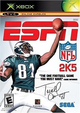 ESPN NFL 2K5 - Xbox: Amazon.com.mx: Videojuegos