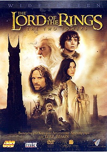 The Lord of the Rings: The Two Towers (2002) NON-USA FORMAT, DVD 2 Discs Region 2 172 Min. Action | Adventure | Fantasy Stars: Elijah Wood, Ian Mckellen, Viggo Mortensen Language English Subtitles Greek Disc 1 Feature Disc 2 Special Features (Lord Of The Rings Extended Edition Subtitles)