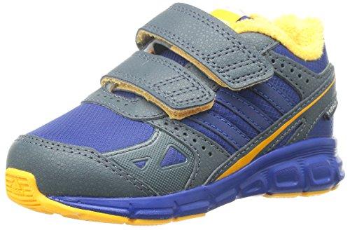 Adidas - Adidas Whyperfast CF I Scarpe Bambino Blu Pelle Tela Strappi M20434 - Blu, 24