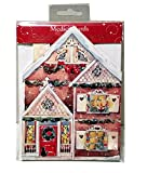 Best ValueFold-Out Christmas Advent Calendar of Colorful Xmas Houses in Village Perfect Holiday Gift. Imported {jg} For mom, dad, sister, brother, grandma, grandpa, friend, gay