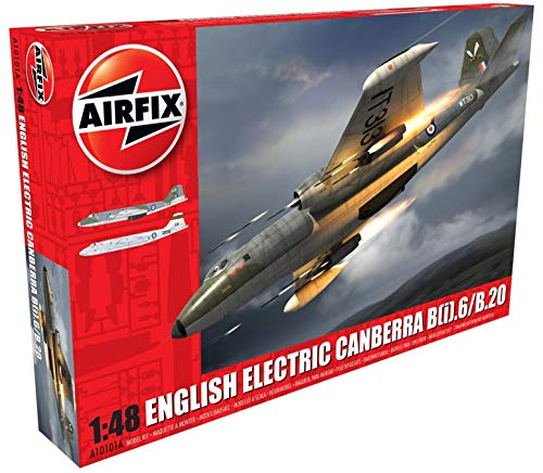 Airfix English Electric Canberra B2/B20 1:48 Military Plastic Model Kit