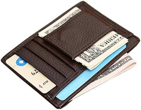 Wallet,toraway Business Luxury Mens Slim Credit Card Holder Mini Wallet Id Case Purse Bag Pouch