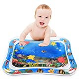 YIZI Tummy time Water Play mat Baby & Toddlers is The Perfect Fun time Play Inflatable Water mat,Activity Center Your Baby's Stimulation Growth