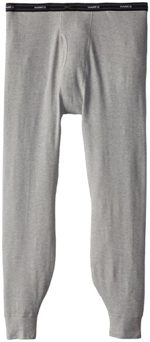 Hanes Men's X-Temp Thermal Pant - Extended Sizes, Heather Grey, 4X-Large