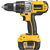 DEWALT DCD970KL 18-Volt XRP Lithium-Ion 1/2-Inch Hammerdrill/Drill/Driver Kit For Sale