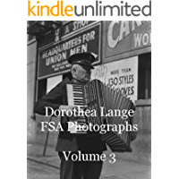 Dorothea Lange FSA Photographs Volume 3 book cover