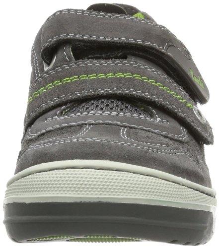 Lurchi Bruce 33-14701 - Zapatillas de cuero para niño Gris (Grau (Dk.Grey))