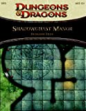 Shadowghast Manor - Dungeon Tiles: A 4th Edition Dungeons & Dragons Accessory (4th Edition D&D)