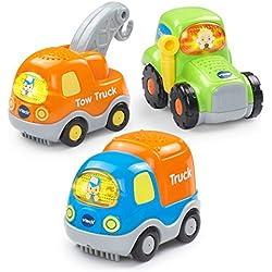 VTech Go! Go! Smart Wheels - Heavy Duty Vehicles 3-pack
