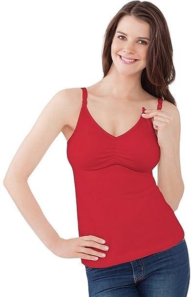 Bravado Essential - Sujetador de lactancia - Rojo - 90D/E: Amazon.es: Ropa y accesorios