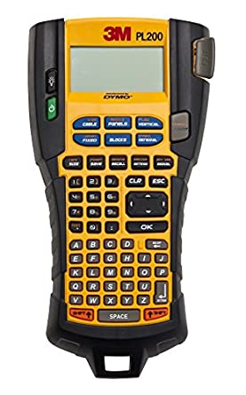 Amazon.com: 3M Handheld Portable Labeler PL200, 1/4 to 3/4 in ...