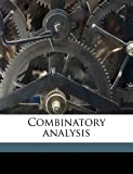 Combinatory Analysis, Percy Alexander MacMahon, 1178292819