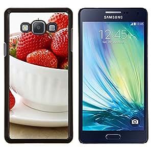 Caucho caso de Shell duro de la cubierta de accesorios de protección BY RAYDREAMMM - Samsung Galaxy A7 A7000 - Naturaleza Hermosa Forrest Verde 57