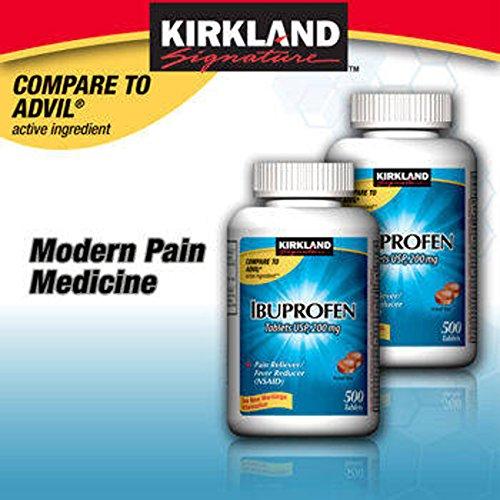 Kirkland SignatureTM Ibuprofen 200mg, 1000 Tablets - COS