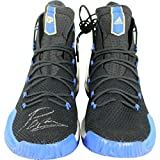 KRISTAPS PORZINGIS Hand Signed Adidas Black/Blue Sneakers Size Review and Comparison