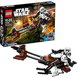 Lego Scout Trooper and Speeder...