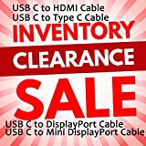 USB C to HDMI Cable(4K@60Hz), Type C to HDMI