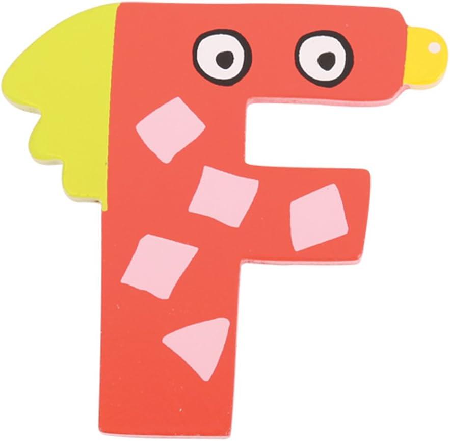 Tatiri Crazy Bird Letter F Red