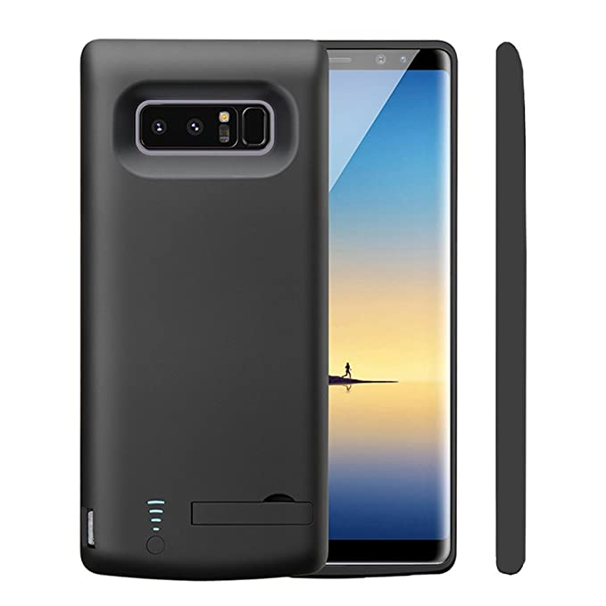 the latest 29ec4 21b05 Idealforce Samsung Galaxy Note 8 Battery Case,6500mAh External Power Bank  Cover Portable Charger Protective Charging Case for Samsung Galaxy Note 8  ...
