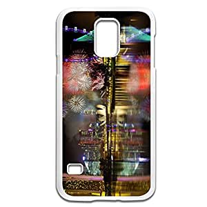 Samsung Galaxy S5 Cases Fireworks Design Hard Back Cover Proctector Desgined By RRG2G
