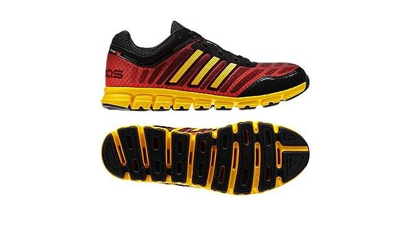 db1fd5807b77 Adidas Climacool Aerate 2 Running Shoe - Black Yellow Red (Mens) - 8.5   Amazon.ca  Shoes   Handbags