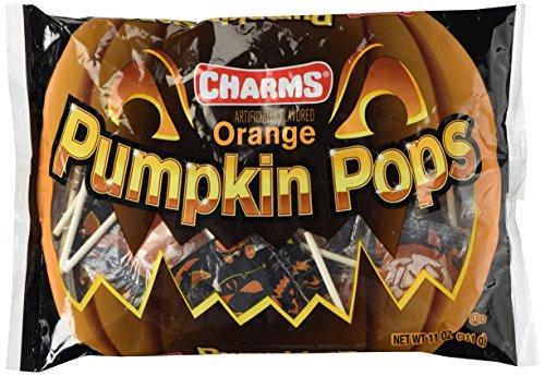 Orange Pumpkin Pops 11.5oz. - Pumpkin Halloween Pops