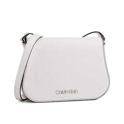 929b1dada20ed Calvin Klein Slide Saddle Bag Bright White  Amazon.de  Schuhe ...