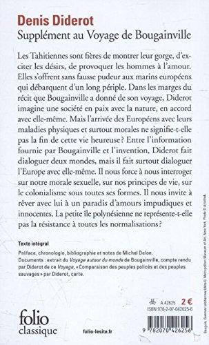 Denis diderot supplment voyage bougainville dissertation