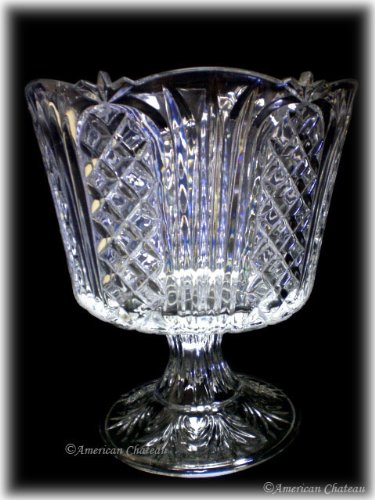 Fifth Avenue Crystal Wellington Trifle Bowl/Dishes Jay Imports 305990-GB