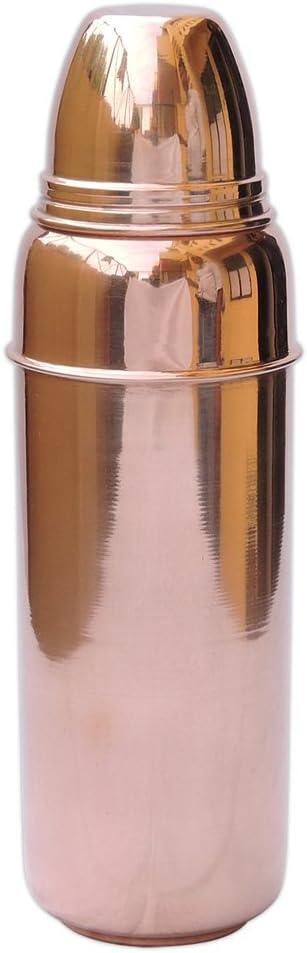 Secondes cuivre bouteille d/'eau pour l/'Ayurveda bénéfices santé Lot de 2