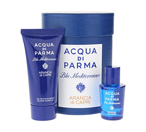 Acqua Di Parma 'Blu Mediterraneo Arancia Di Capri' 2 Piece Mini Set EDT 0.16Oz/5ml & Shower Gel 0.70Oz/20g ()