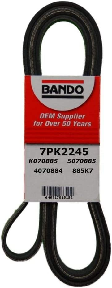 Bando 7PK2020 OEM Quality Serpentine Belt