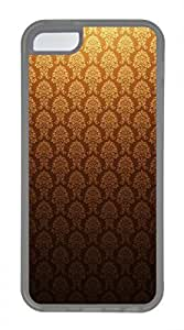 iPhone 5c case, Cute Golden Vintage iPhone 5c Cover, iPhone 5c Cases, Soft Clear iPhone 5c Covers