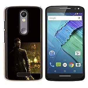 Stuss Case / Funda Carcasa protectora - DeusEX Cyborg - Motorola Moto X3 3rd Generation
