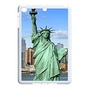 High Quality {YUXUAN-LARA CASE}Statue of Liberty With Flag For Ipad Mini Case STYLE-10