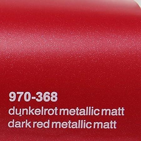 20 72 M Oracal 970ra 368 Dunkel Rot Matt Metallic Gegossene Profi Autofolie 152cm Breit Blasenfrei Mit Luftkanäle Baumarkt