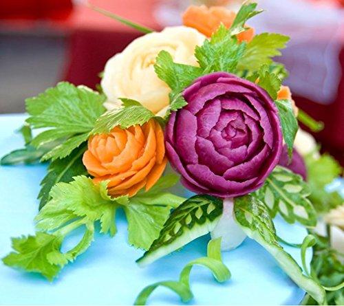 New KIWI CARVING KNIFE Stainless Thai Fruit Vegetable Soap Craft Kitchen Tool 12 pcs by Kiwi (Image #2)