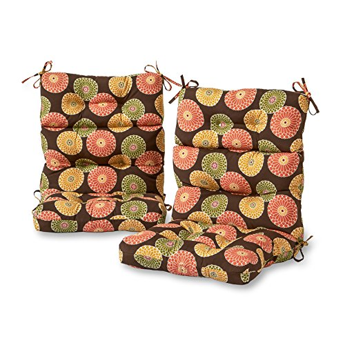 Greendale Home Fashions Cushions Chocolate
