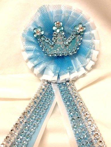 Baby Prince Baby Shower Corsage Badge Keeepsake Gift Decoration